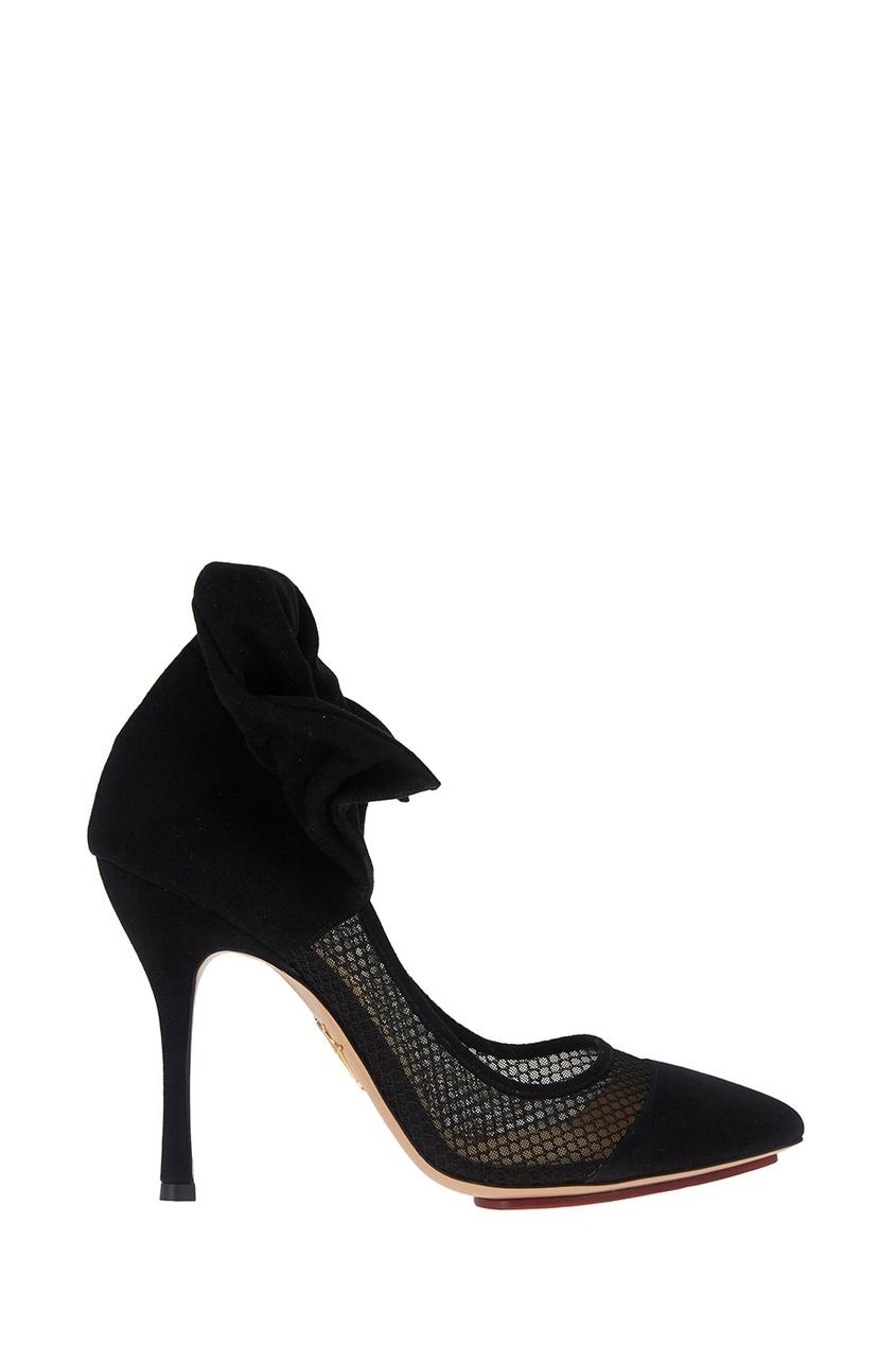 Замшевые туфли Joan