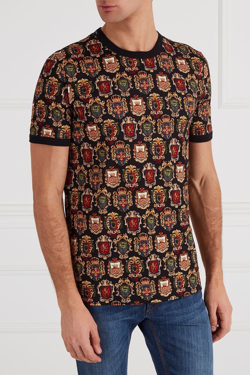 футболка мужская dolce Dolce&Gabbana Футболка с принтом