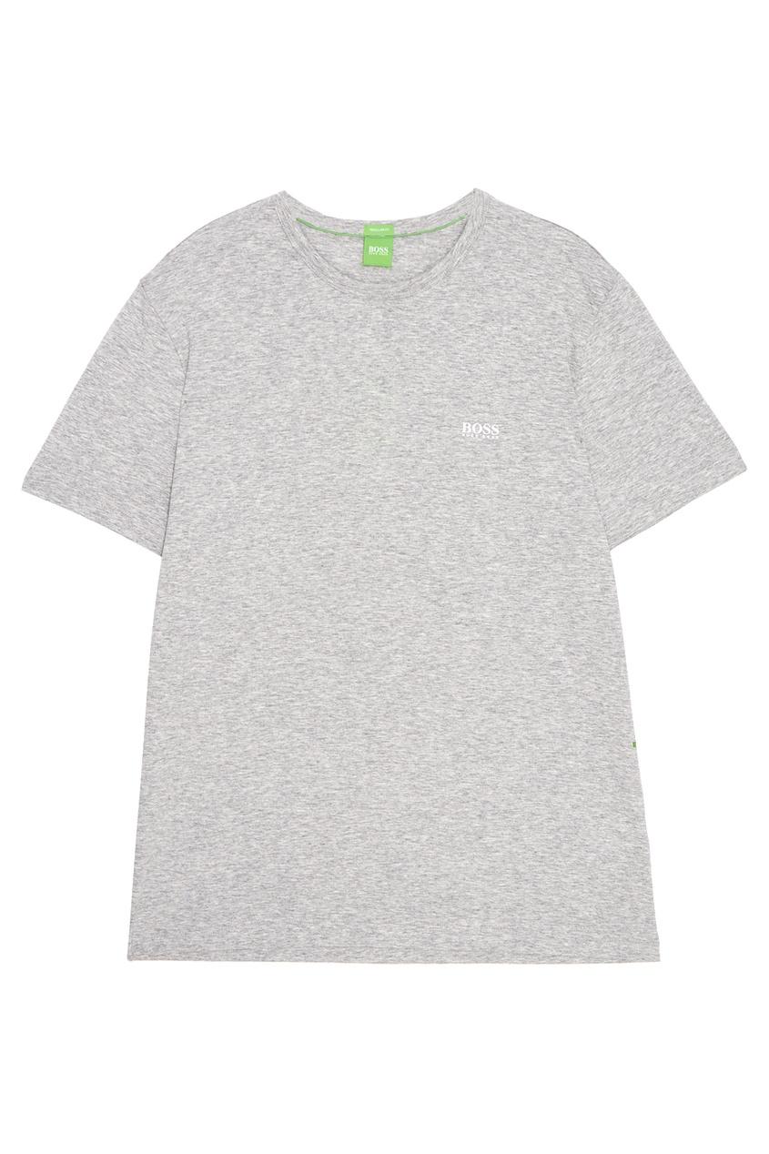 Boss Green Меланжевая футболка футболка boss green boss green bo984emsrt87