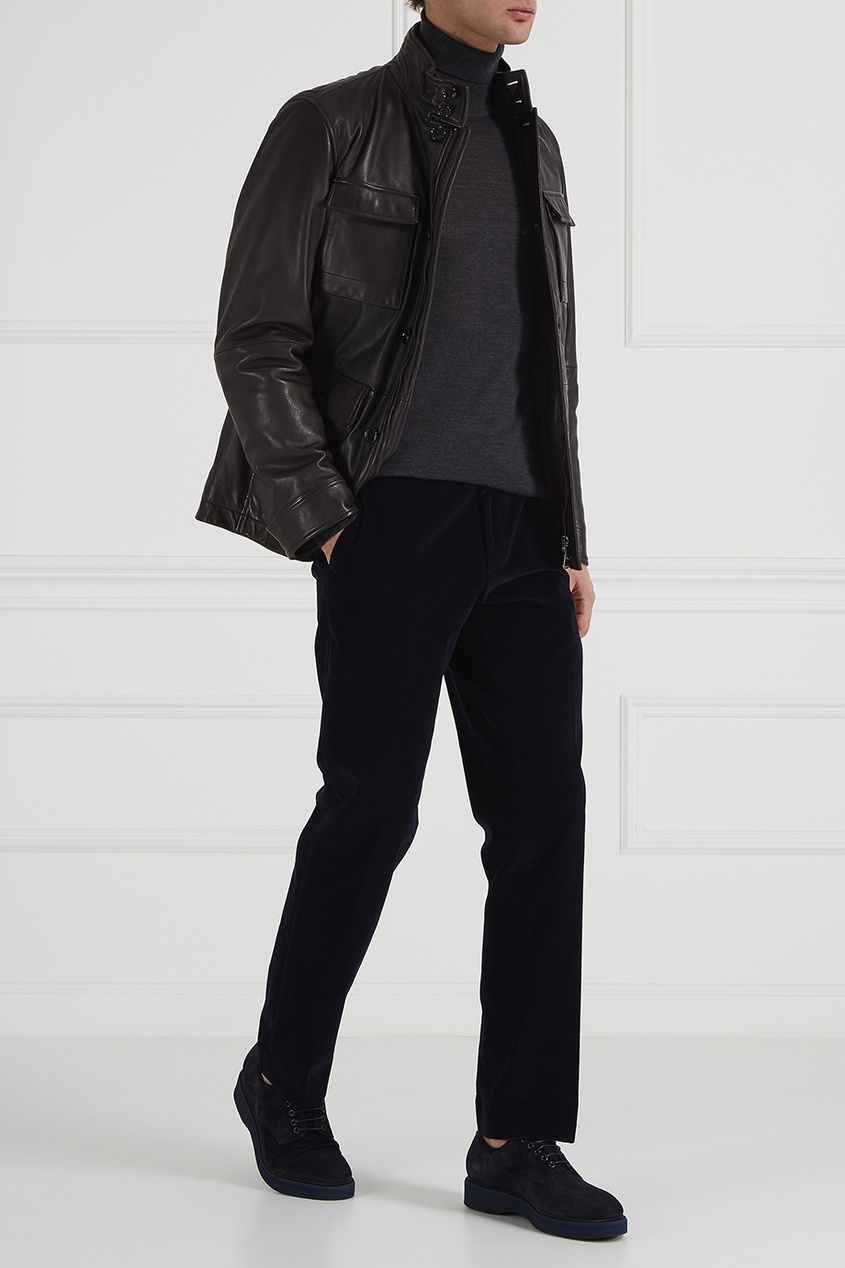 мужской свитер boss, серый