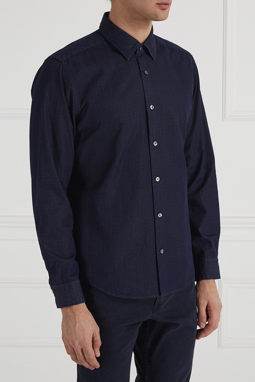 BOSS Фактурная рубашка