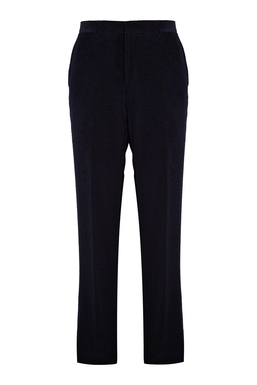Купить Зауженные брюки синего цвета