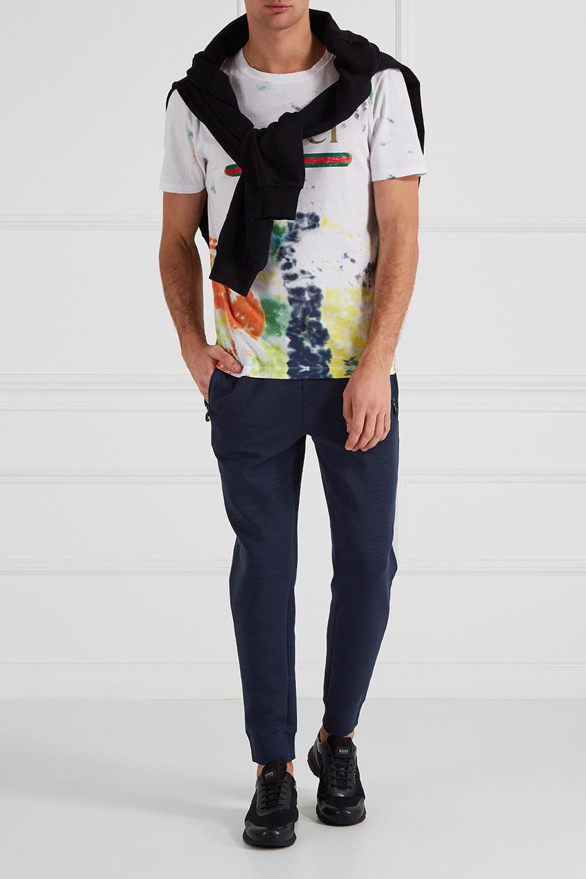 Спортивные брюки с карманами на молнии