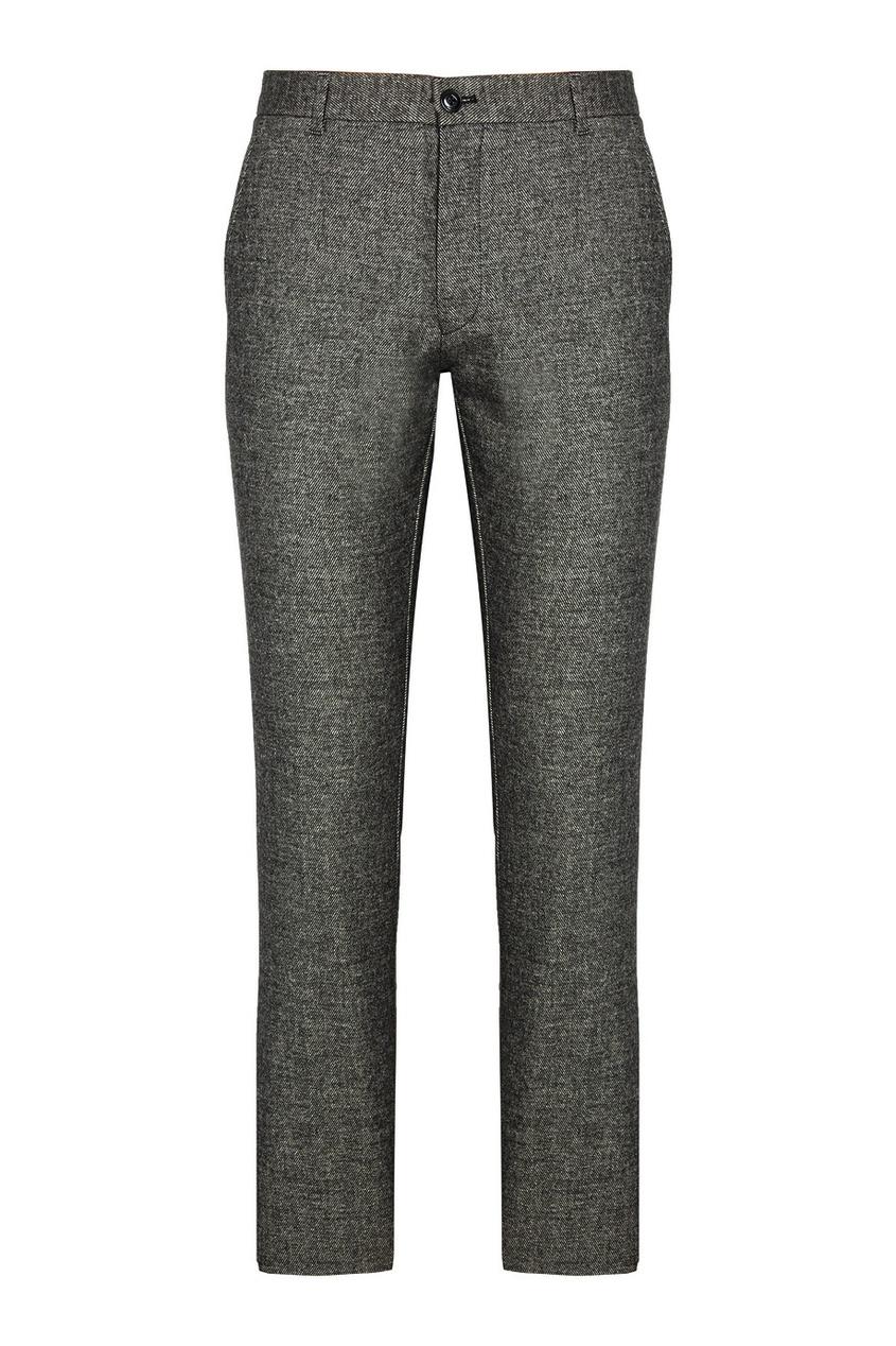 Зауженные фактурные брюки