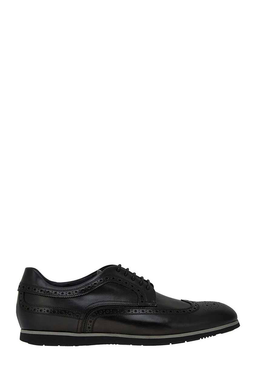 мужские туфли boss, черные