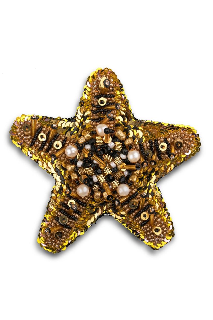 PLANKT.ON Брошь Австралийская Морская Звезда брошь в виде змеи