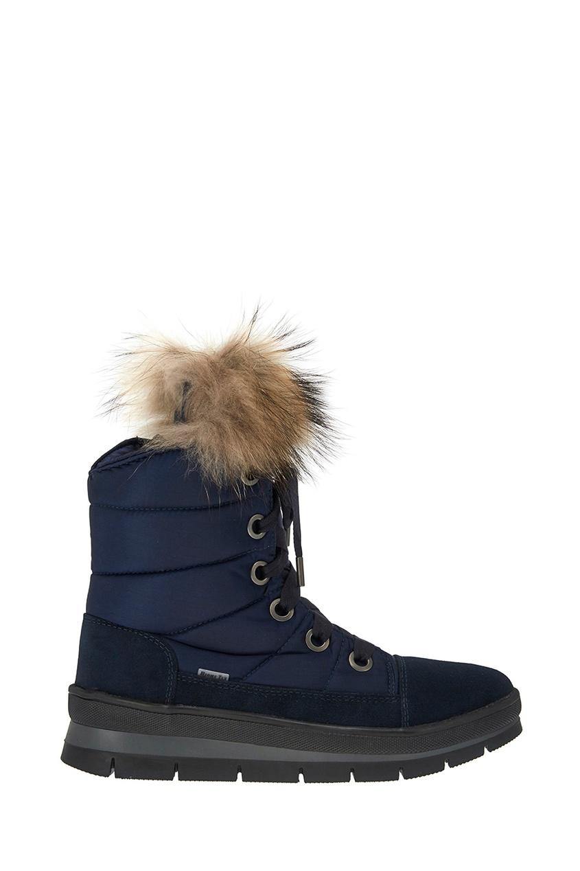 Jog Dog Синие стеганые ботинки