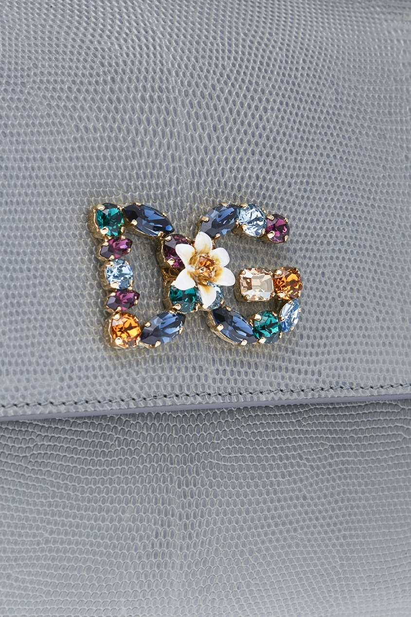 цена Dolce&Gabbana Сумка с аппликацией онлайн в 2017 году