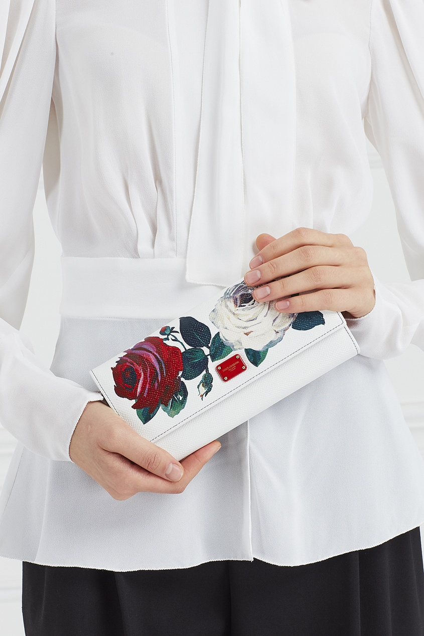 Dolce&Gabbana Кошелек с принтом одежда из кожи dolce gabbana g9z03l fult6 dolce