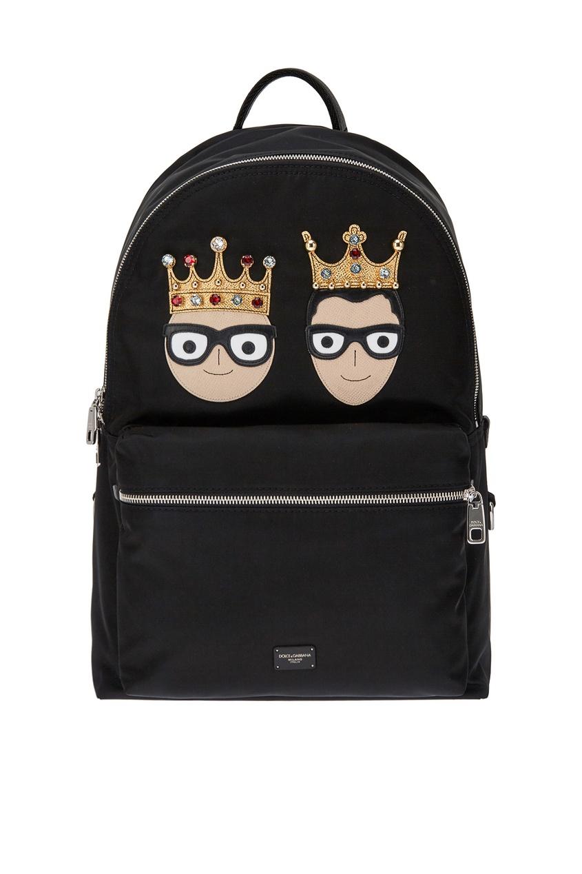 Dolce&Gabbana Рюкзак с нашивками
