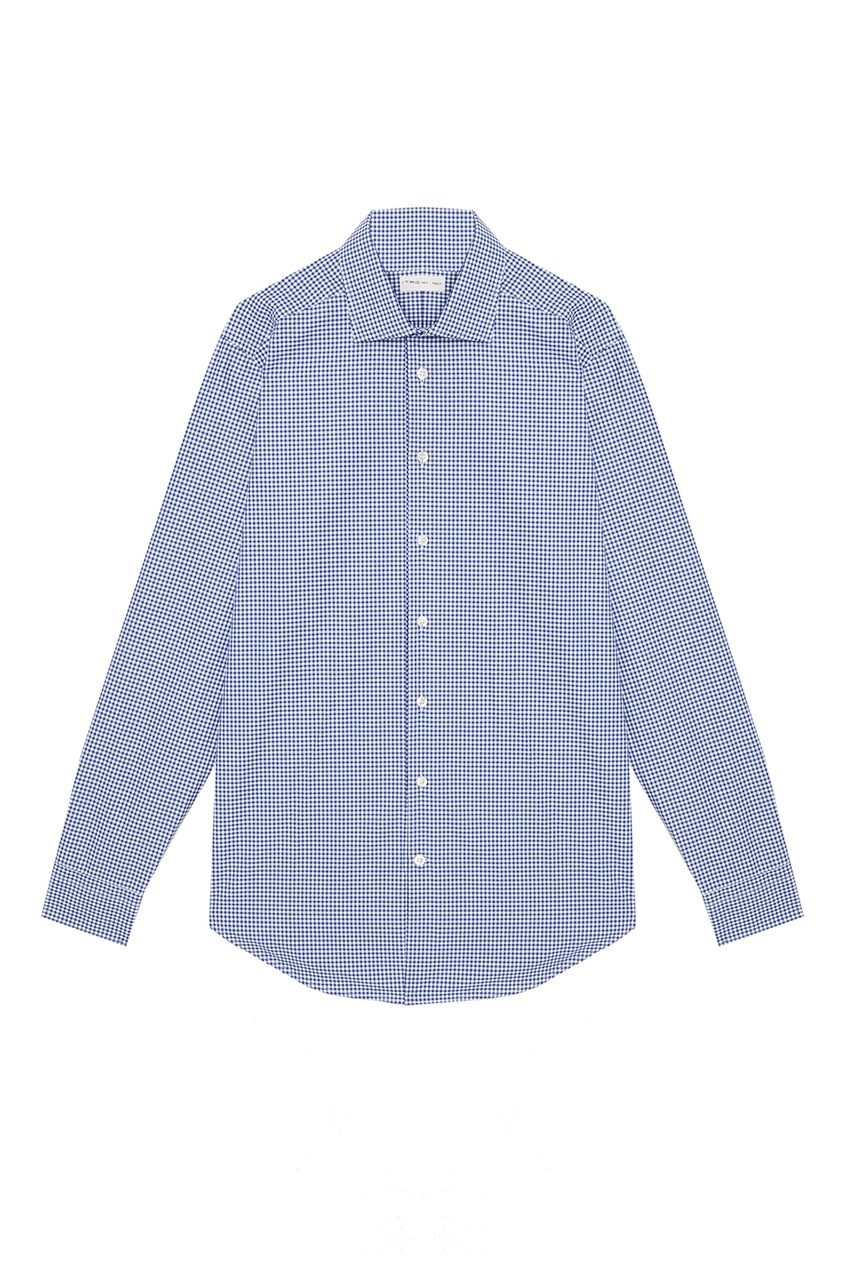 Etro Голубая рубашка в клетку рубашка в клетку dc atura 3 atura black page 2