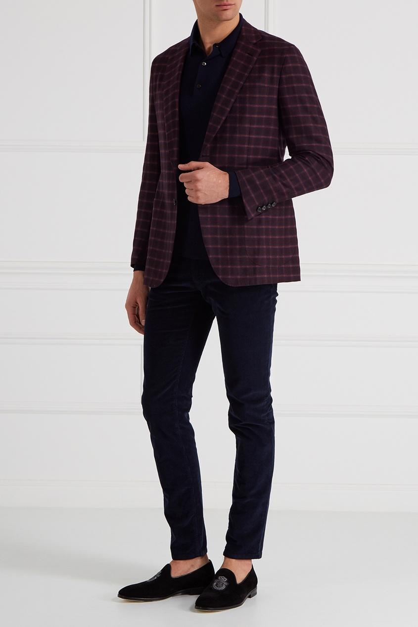 Кашемировый пиджак от Brioni