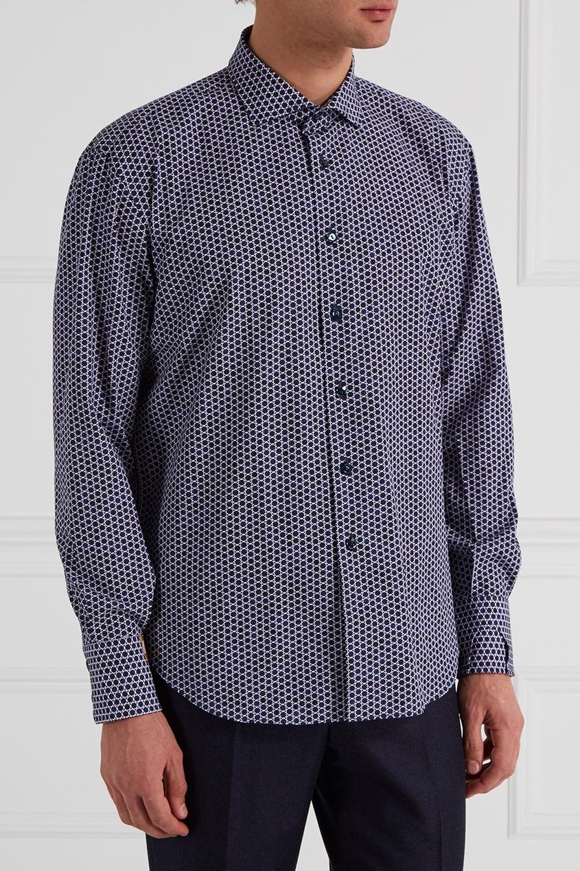billionaire g15092935661 Billionaire Рубашка с геометрическим принтом
