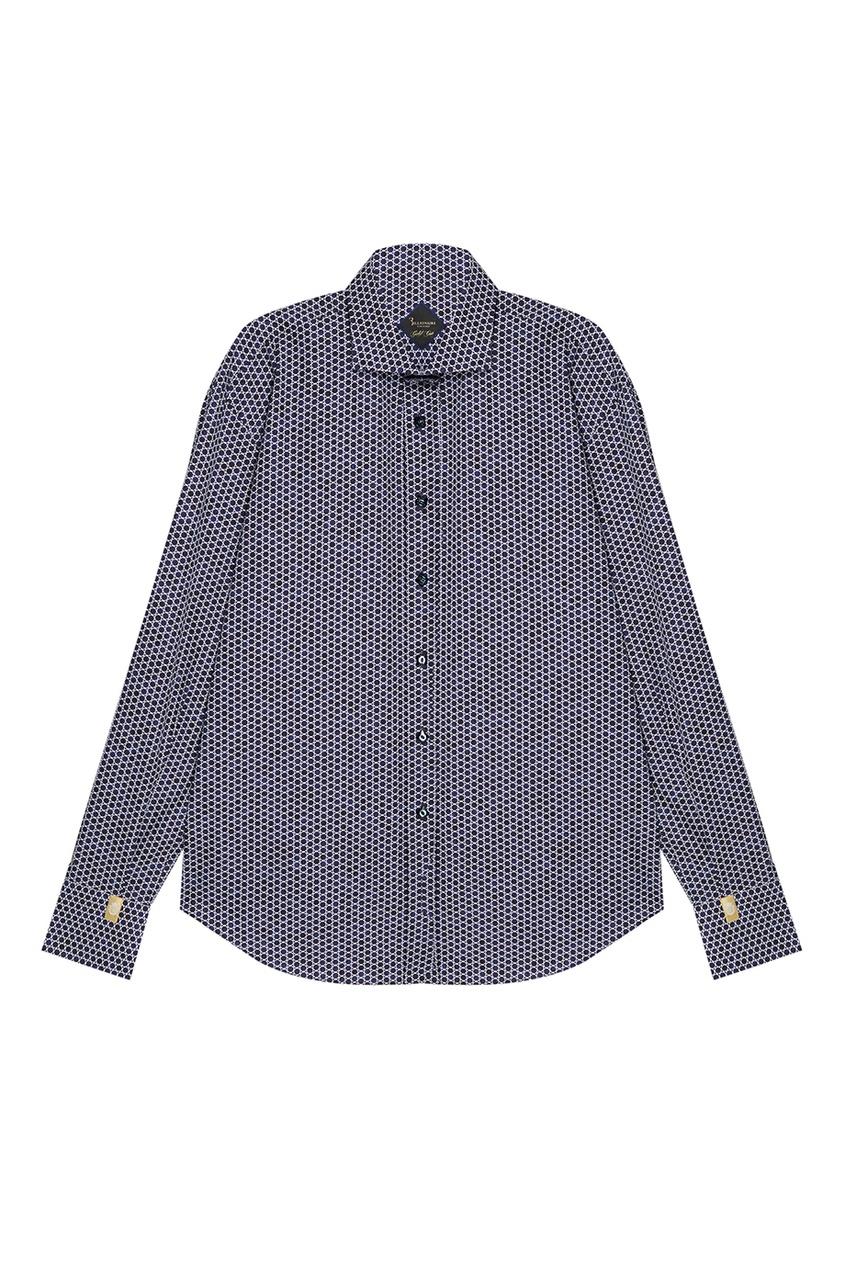 Billionaire Рубашка с геометрическим принтом billionaire мокасины