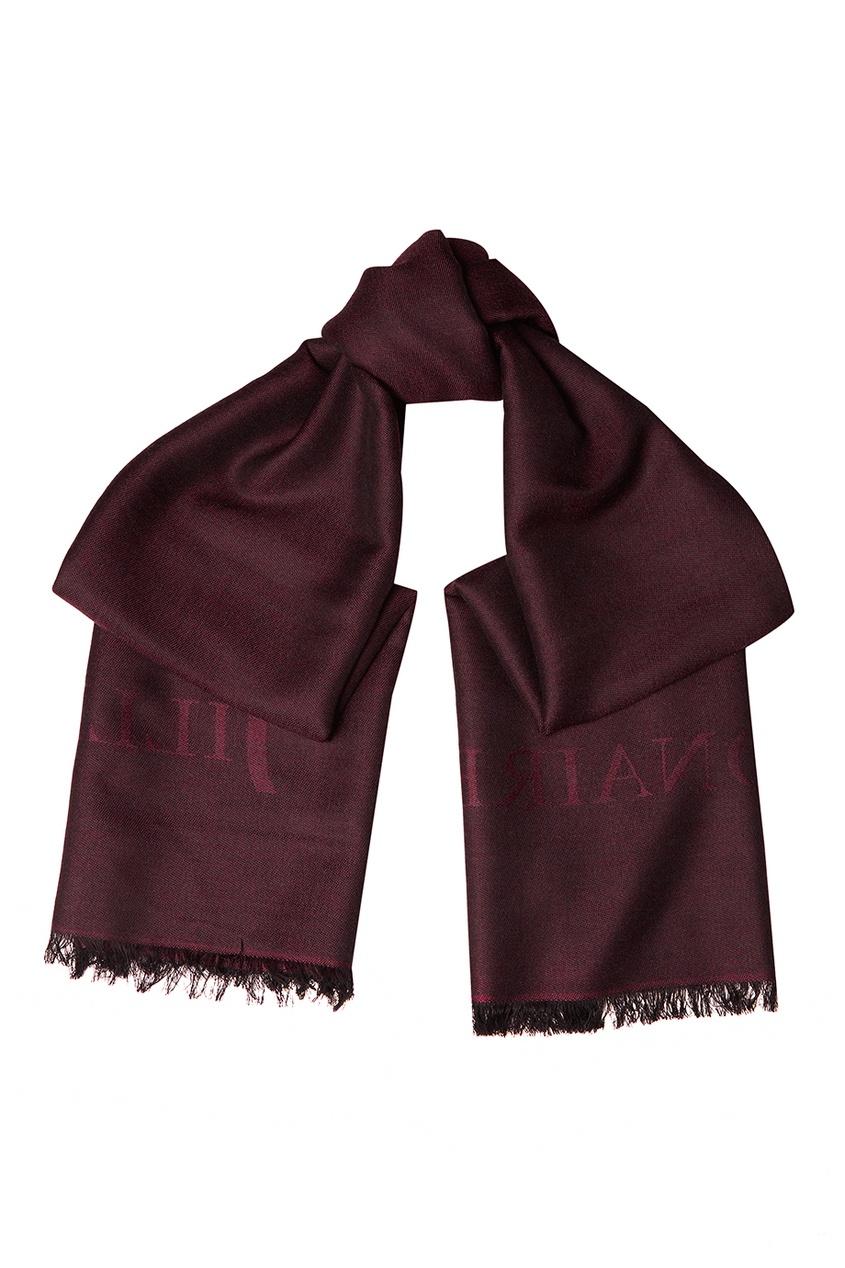 billionaire g15092935661 Billionaire Бордовый шарф из шерсти