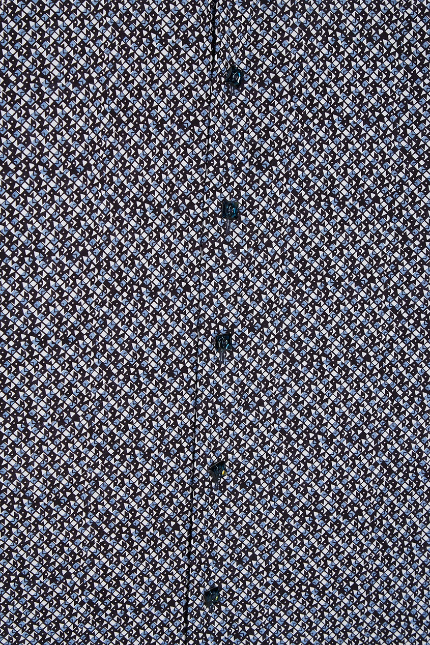 Billionaire Хлопковая рубашка с принтом рубашка billionaire рубашка