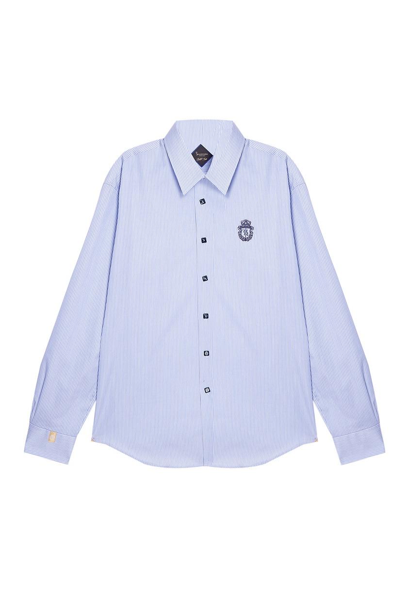 Billionaire Хлопковая рубашка в полоску рубашка billionaire рубашка