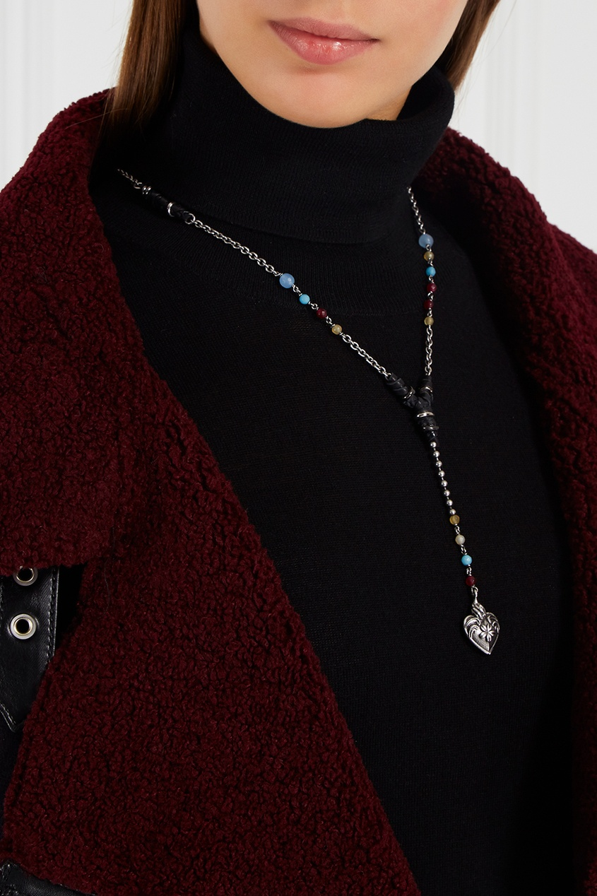 Valentino Подвеска-сердце на цепочке