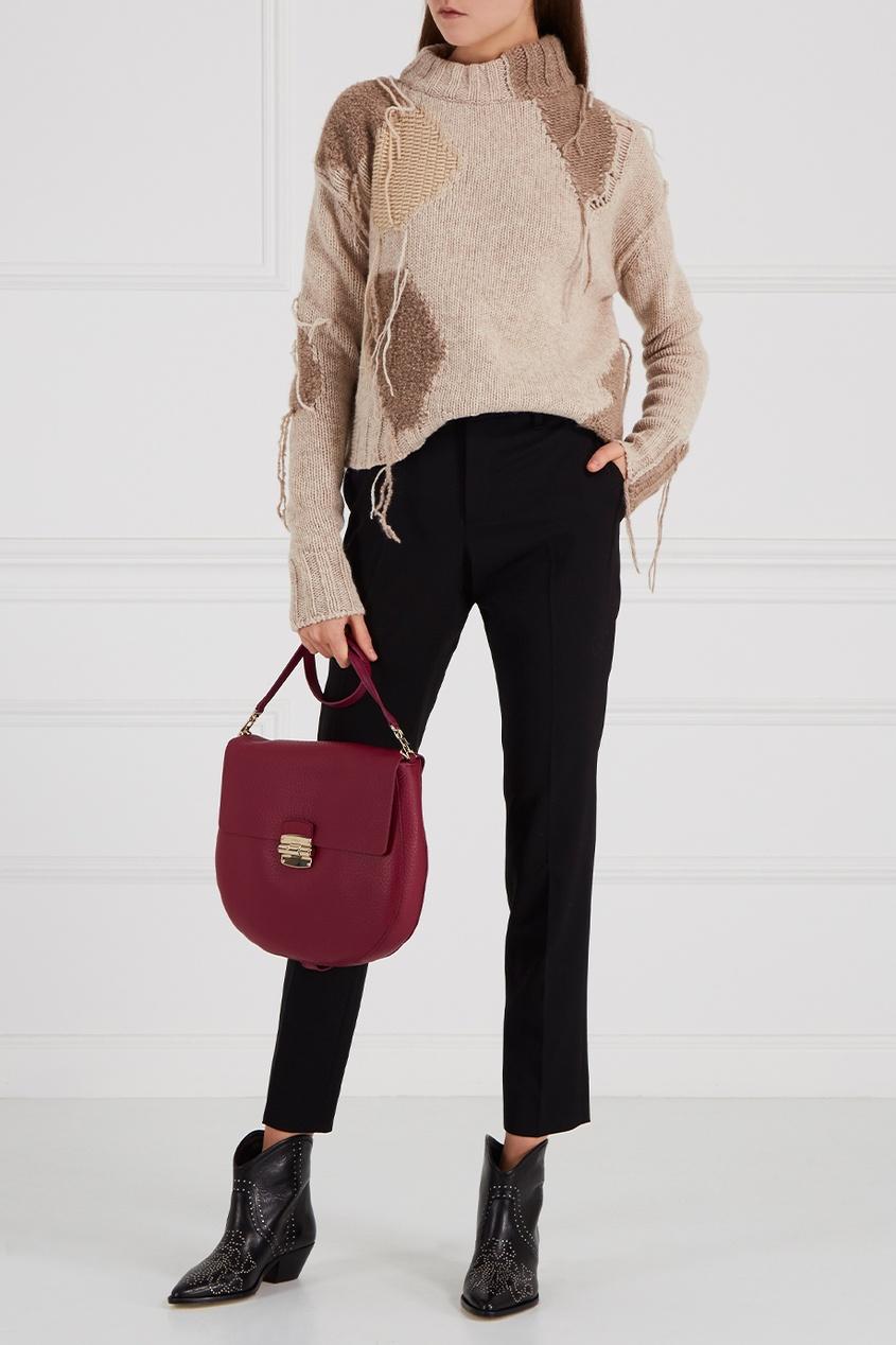 FURLA Розовая сумка Club
