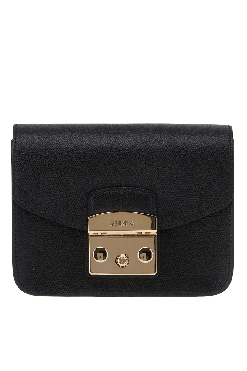 FURLA Черная сумка Metropolis furla сумка с павлинами metropolis