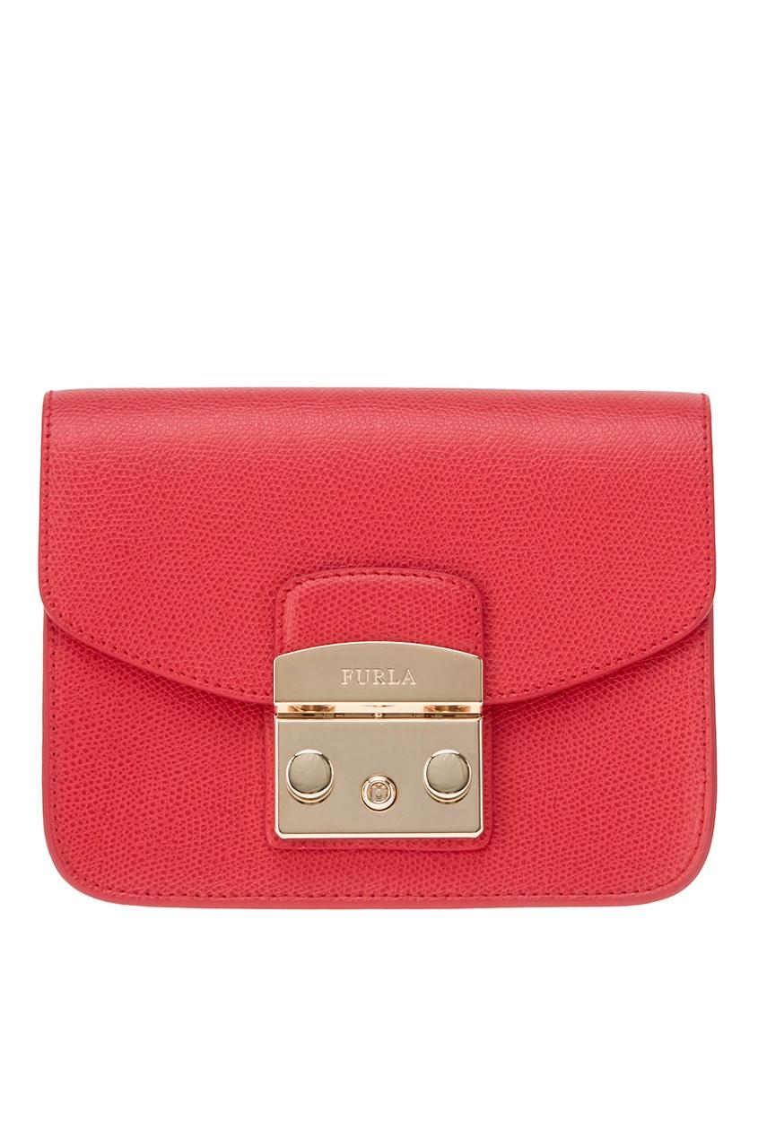 Красная сумка Metropolis