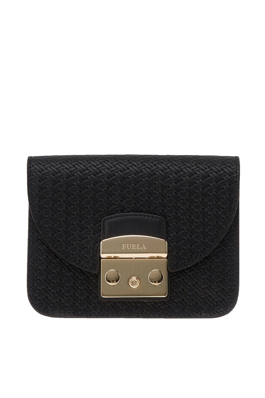FURLA Черная сумка Metropolis Gilda gilda tonelli сумка ssgt7019