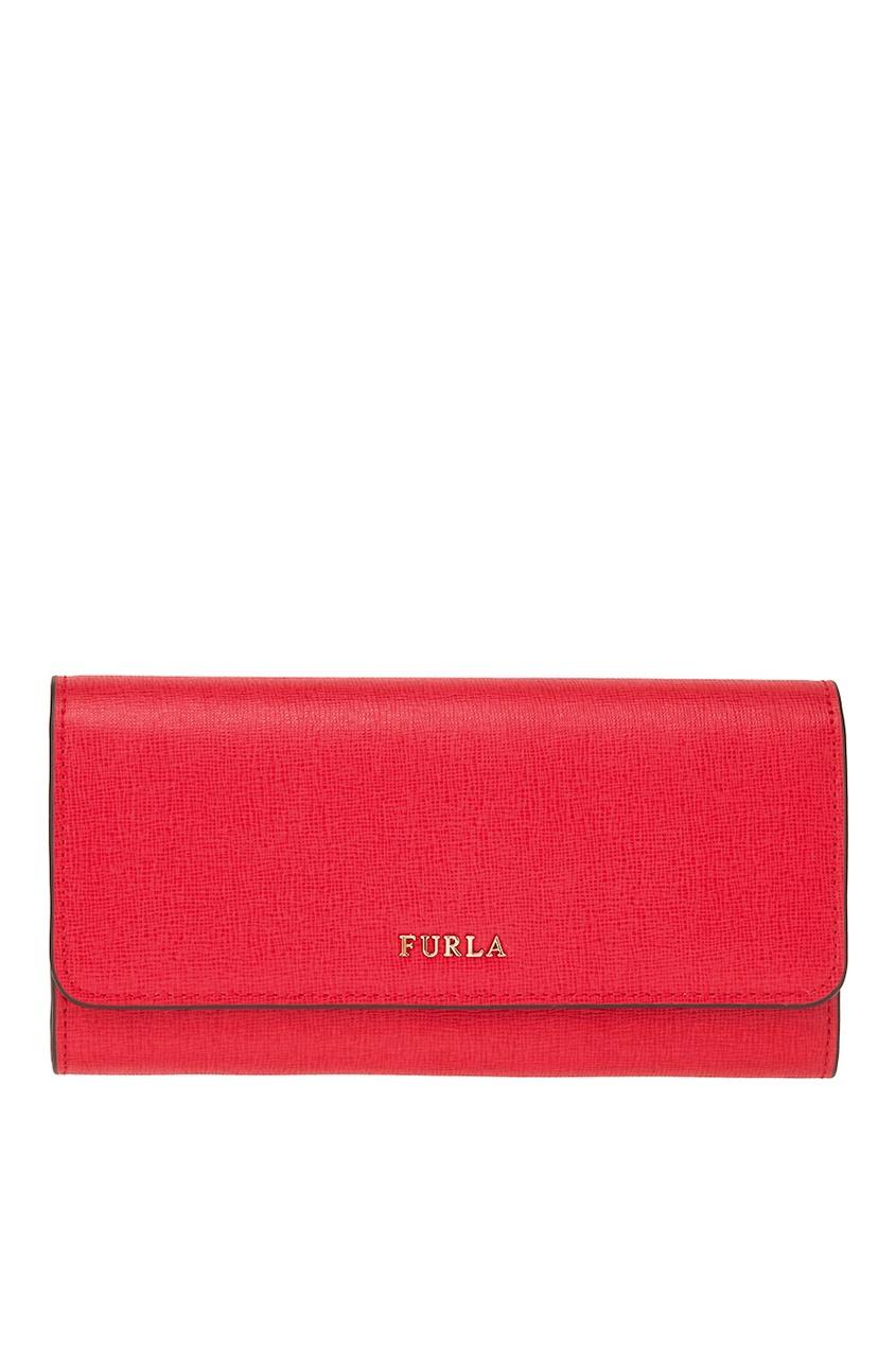 FURLA Красный кошелек с клапаном Babylon кошелек furla 903572