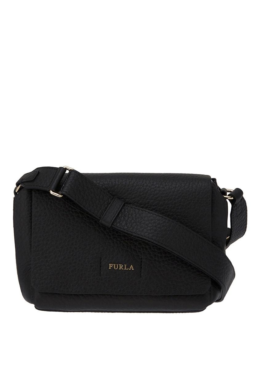 FURLA Черная сумка-мини Capriccio сумка furla сумка