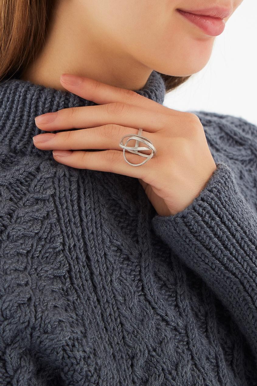 Joid'art Barcelona Серебряное кольцо-сфера