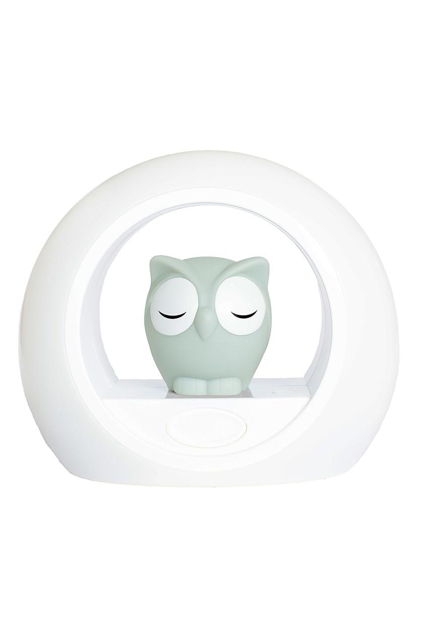 ZAZU Ночник «Сова Лу» серый ночники pabobo ночник мишка путешественник