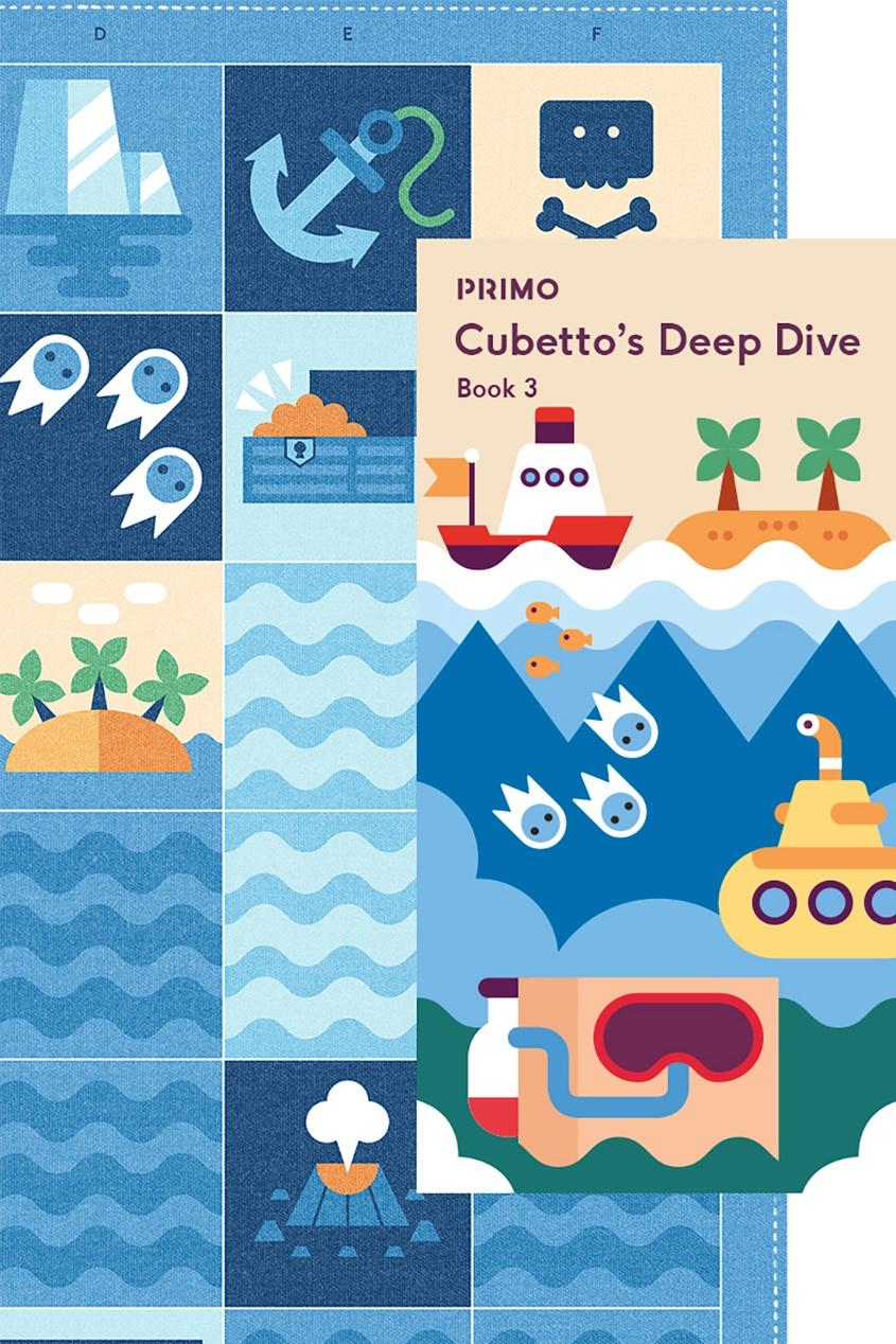 Primo Toys Карта для путешествий «Океан»