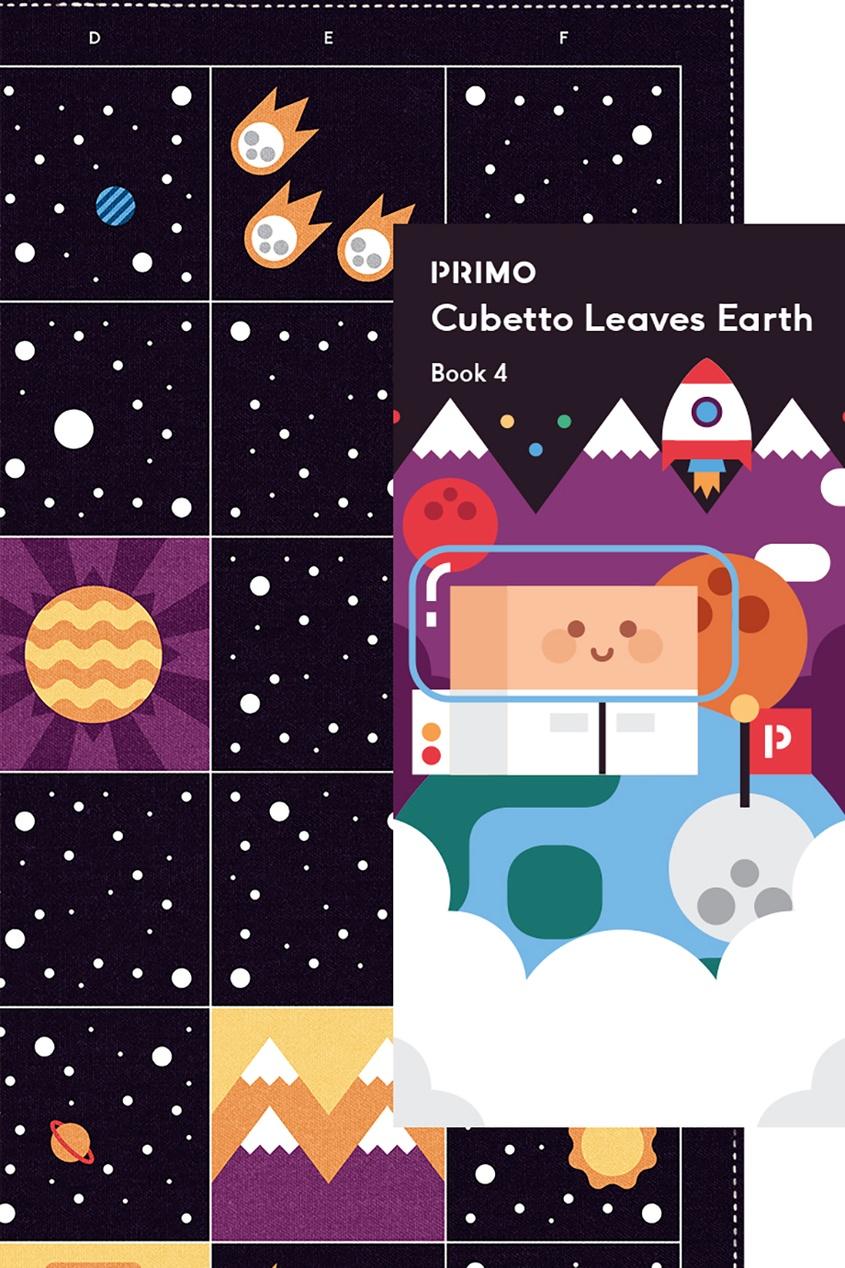 Primo Toys Карта для путешествий «Космос»