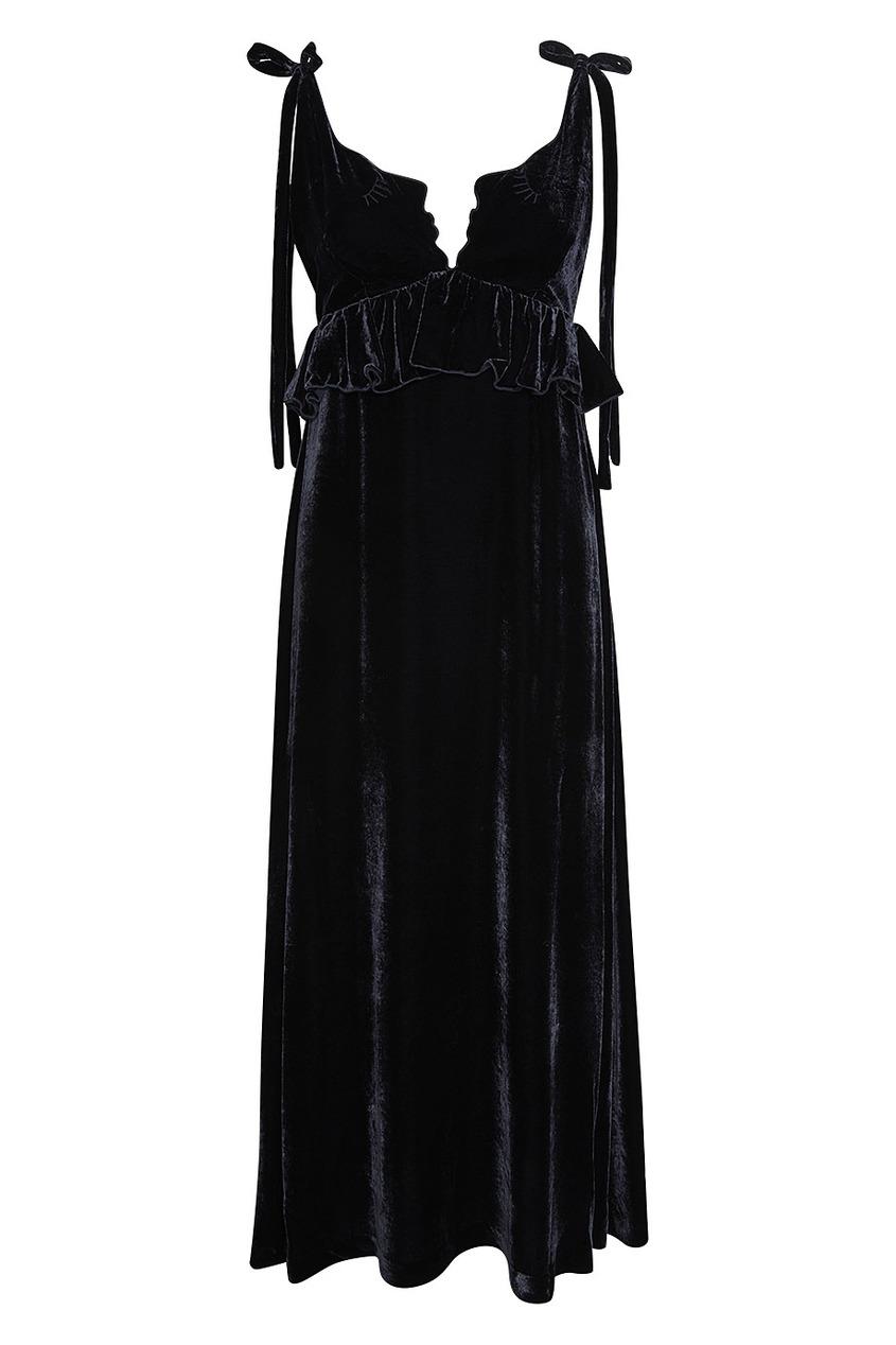 Бархатное платье Argo