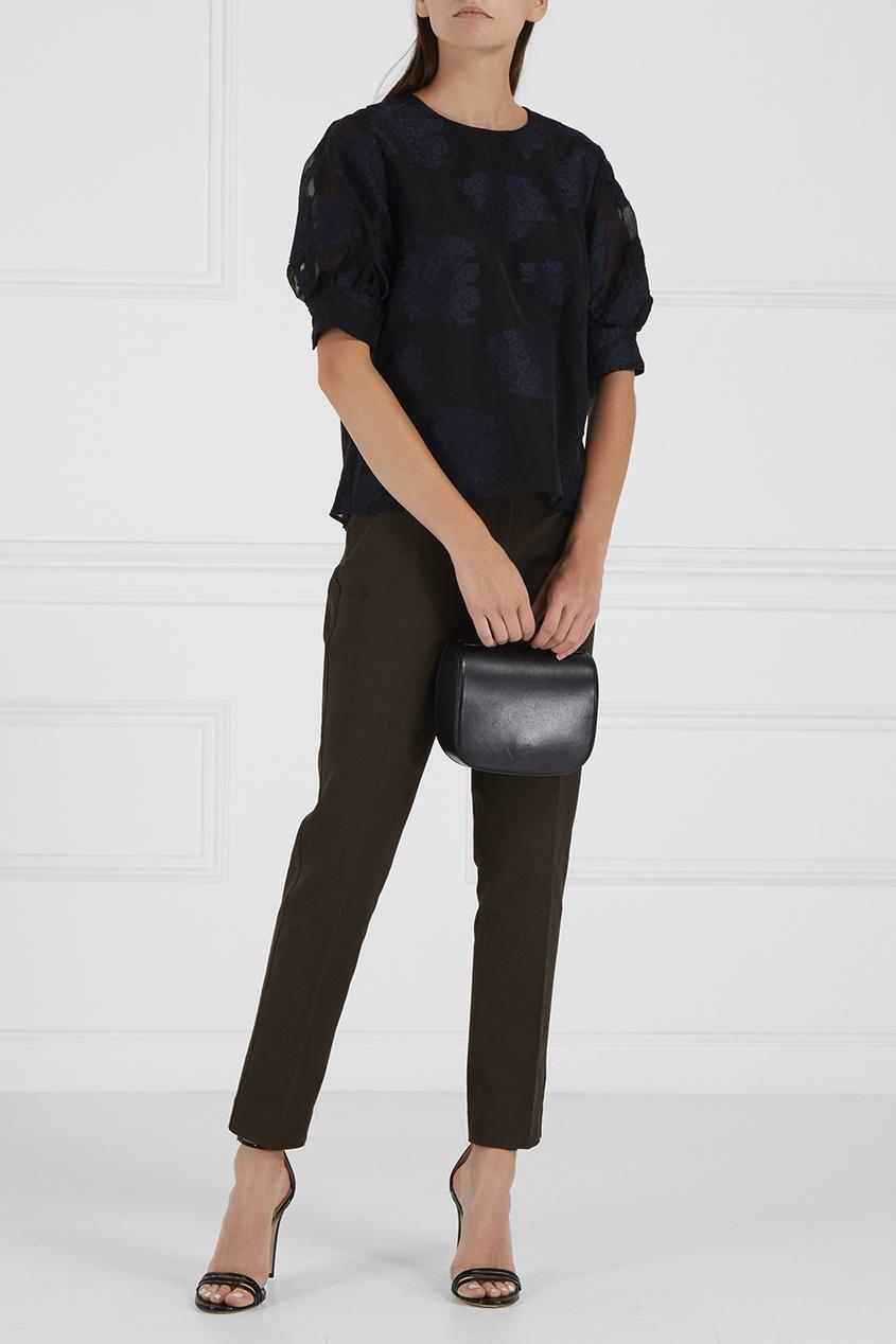 Классические брюки цвета хаки
