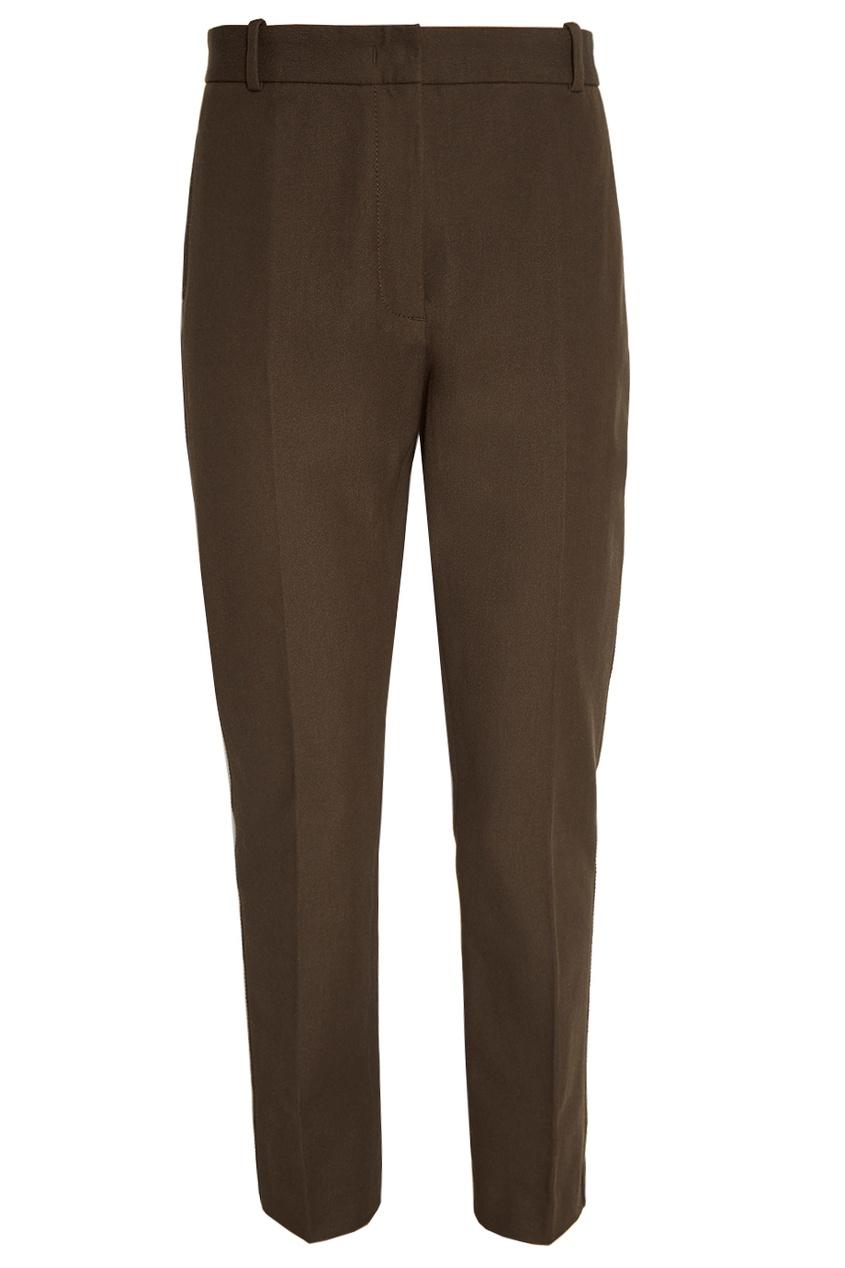 женские брюки joseph, зеленые