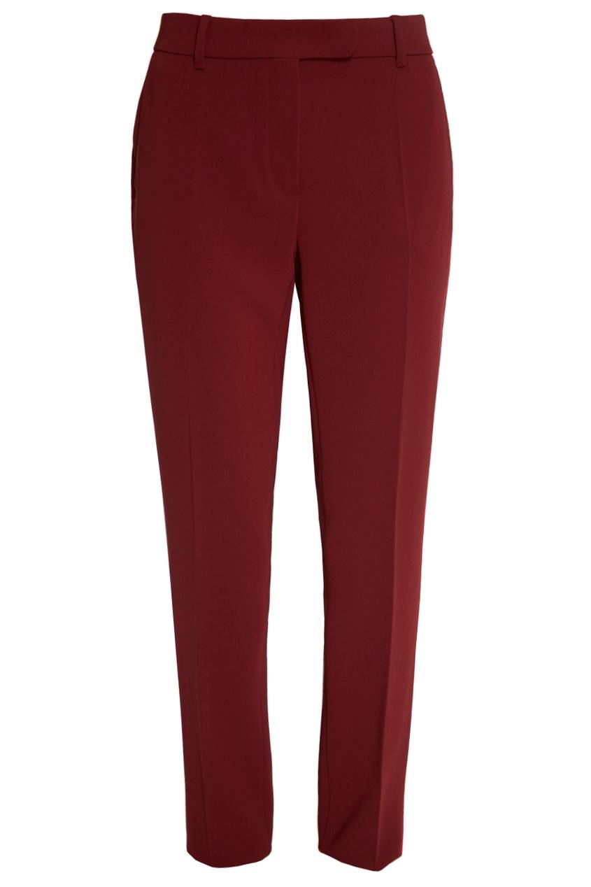 Бордовые брюки Danton