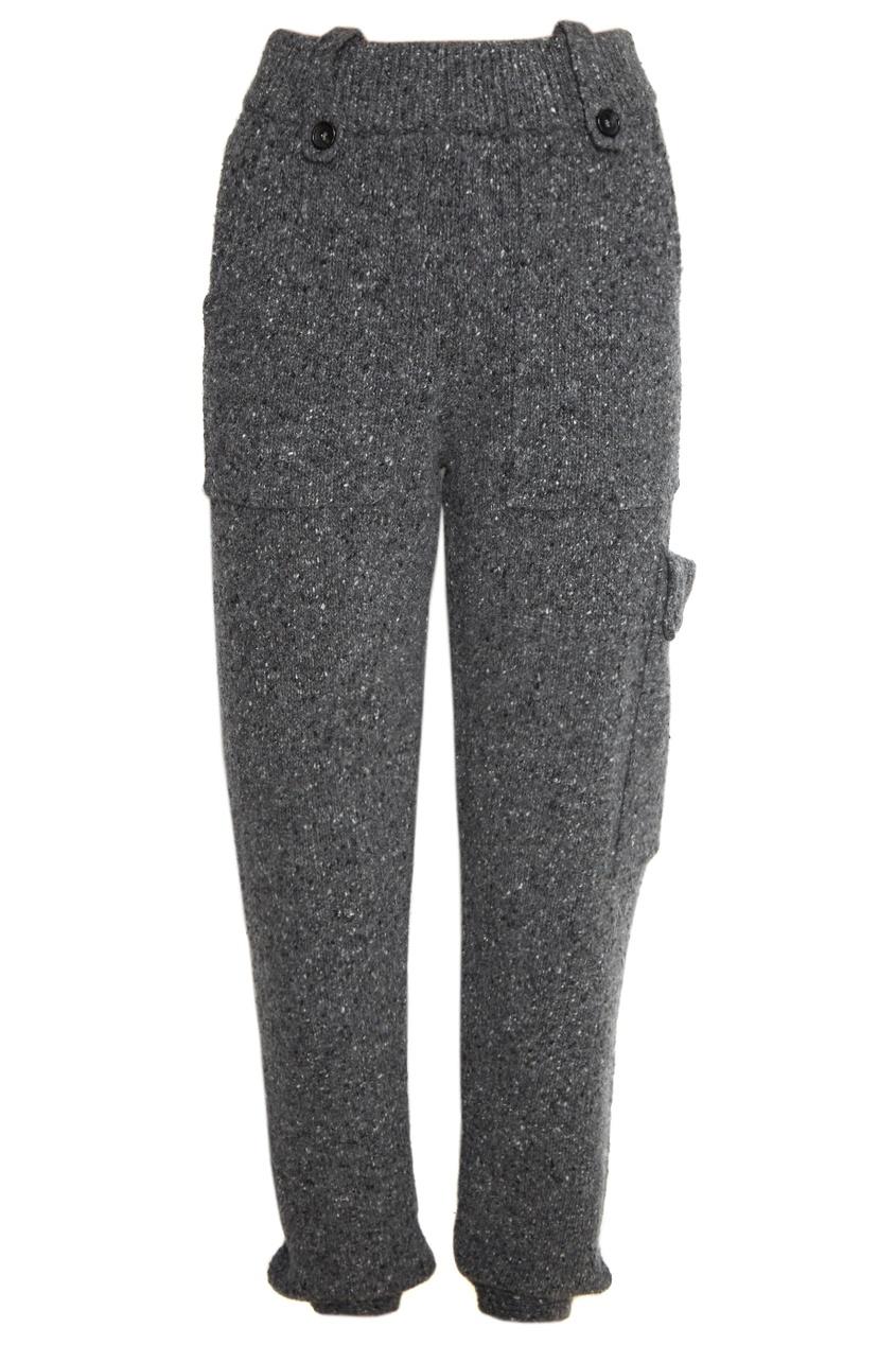 Joseph Серые брюки из трикотажа