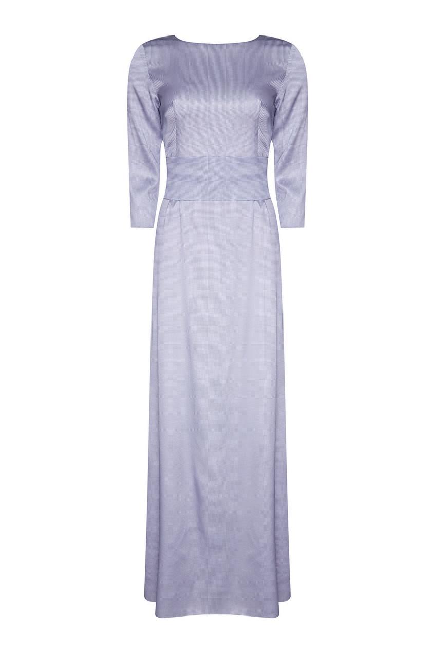 Alexander Terekhov Шелковое платье с широким поясом alexander terekhov шелковое платье с контрастным принтом