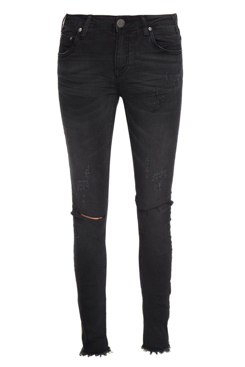 One Teaspoon Черные джинсы-скинни