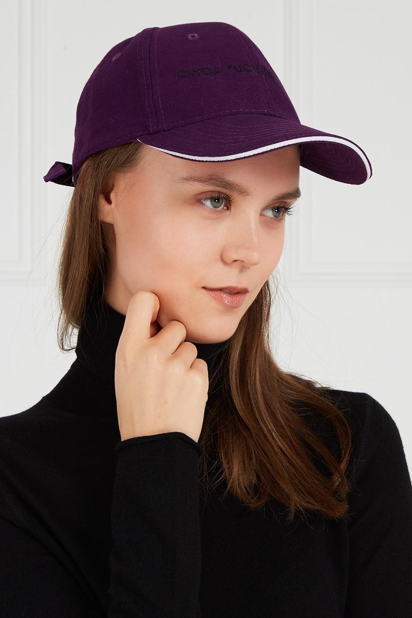 Natasha Zinko Фиолетовая кепка с вышивкой natasha ruleva блуза natasha ruleva ss14 nr 0602