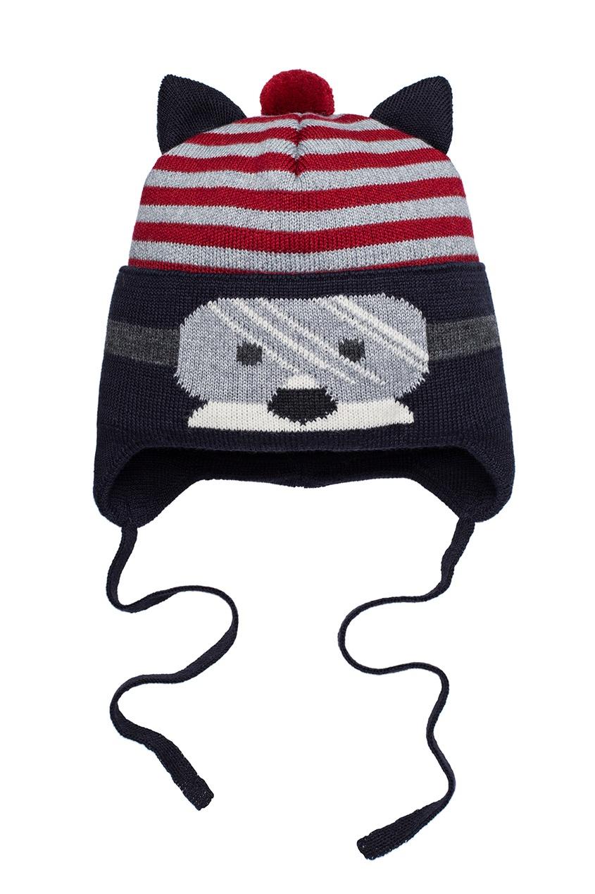 Синяя шапка в полоску от Junior Republic