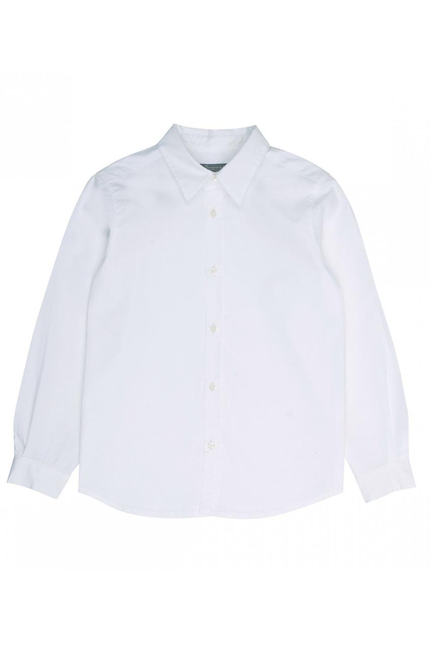 Bonpoint Хлопковая белая сорочка Acteur