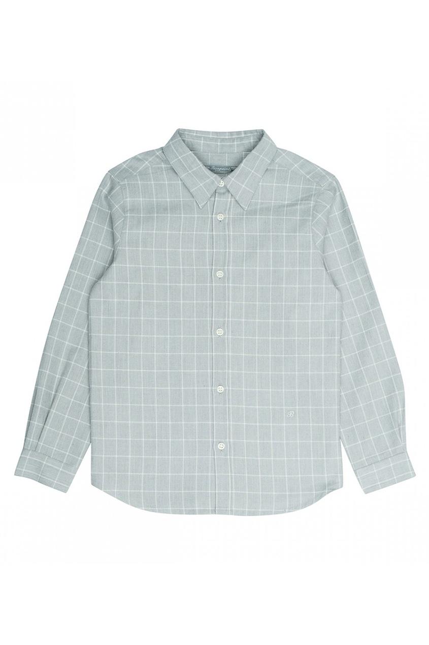 Bonpoint Хлопковая серая сорочка Acteur