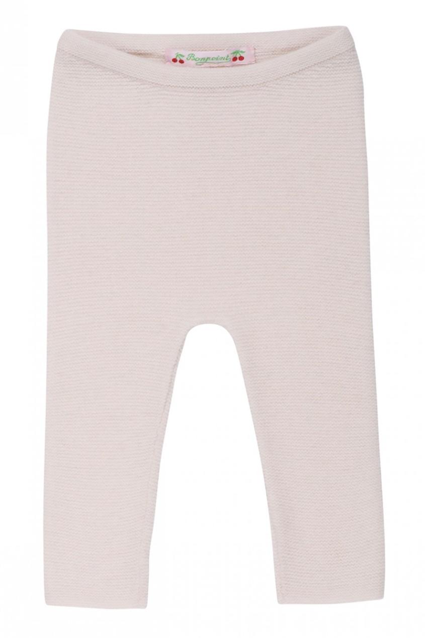 Легинсы розового цвета из кашемира