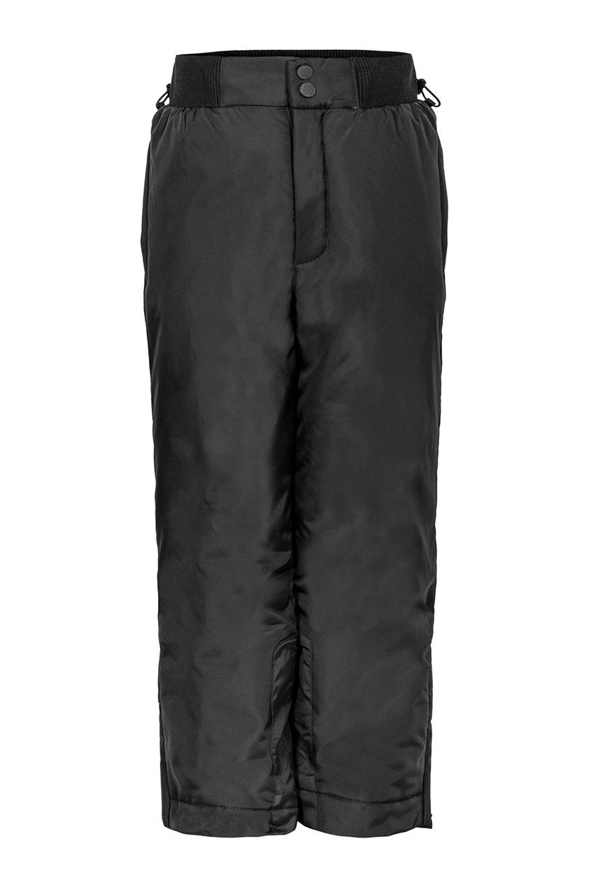 Черные брюки на синтепоне