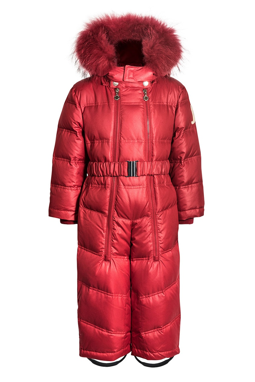 Junior Republic Красный комбинезон с утеплителем ist пояс из кордуры с пластиковой пряжкой