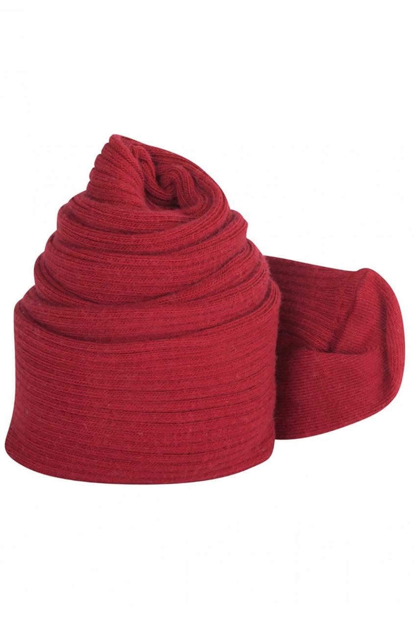 Хлопковые колготки красные Bonpoint