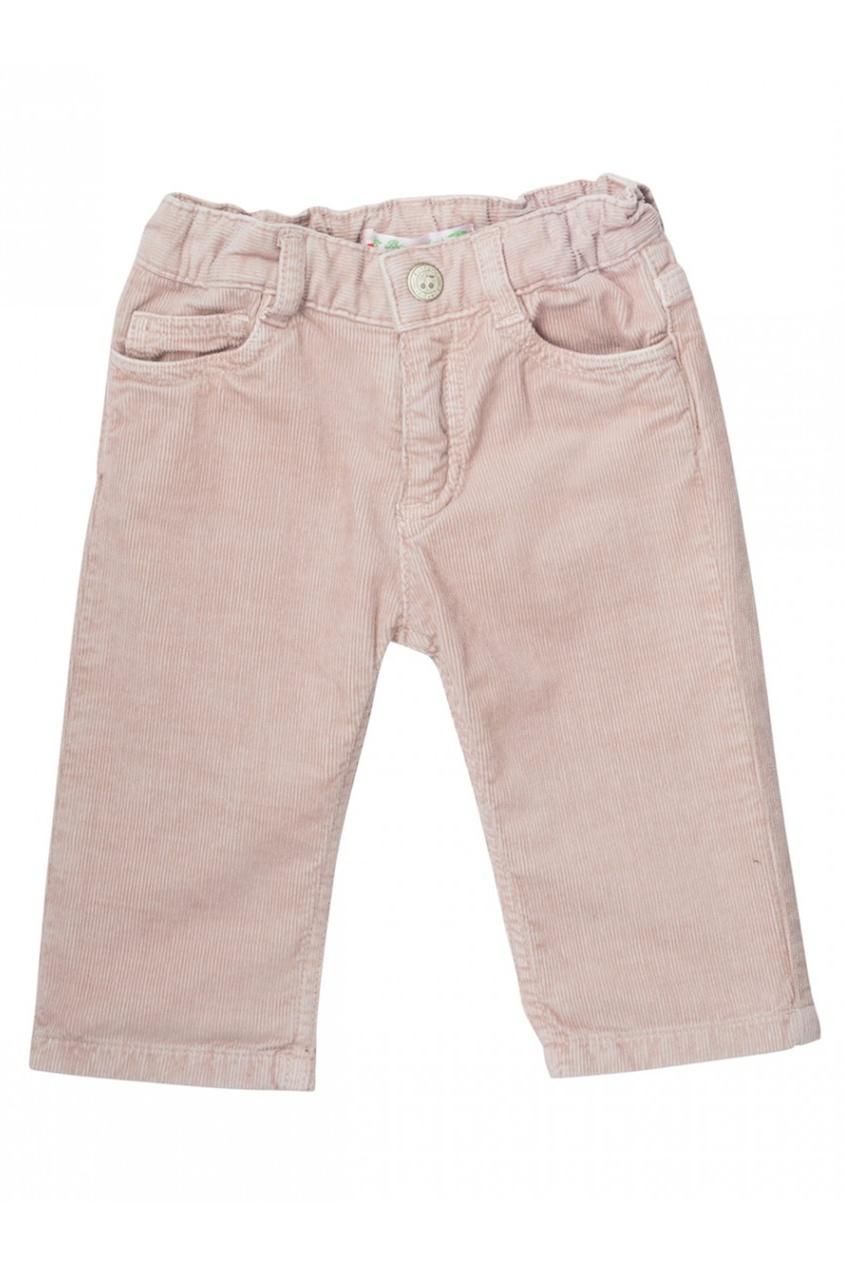 Bonpoint Вельветовые розовые брюки Cookie
