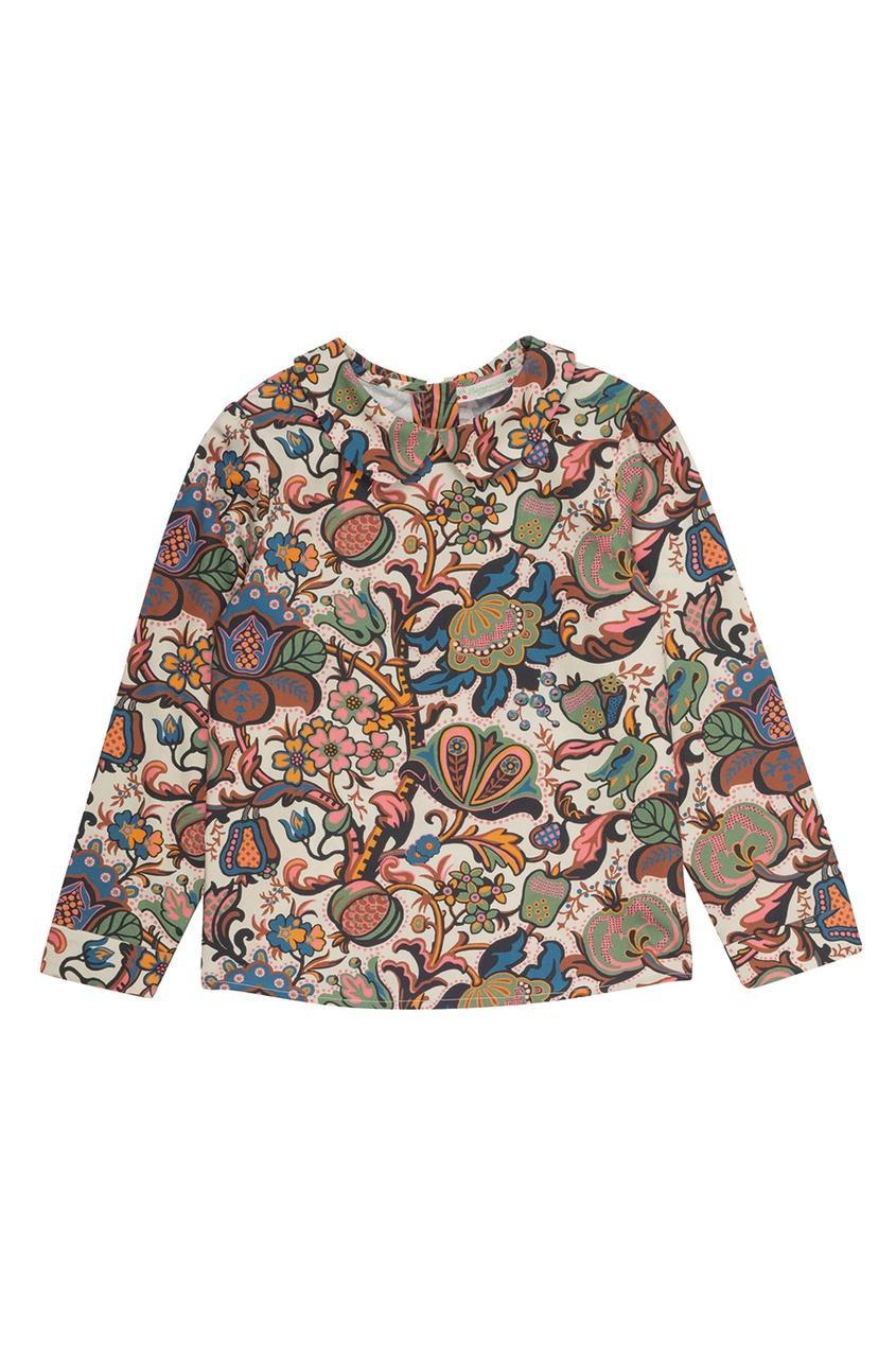 Хлопковая блузка Delice