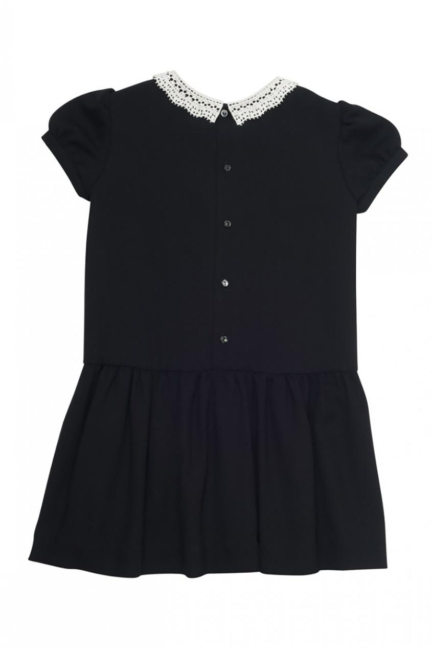 Платье Doll с кружевным воротником